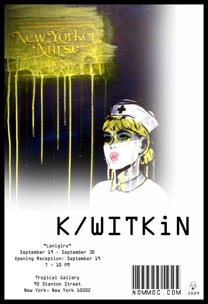 Lanigiro – Art Show – Kersen Witkin