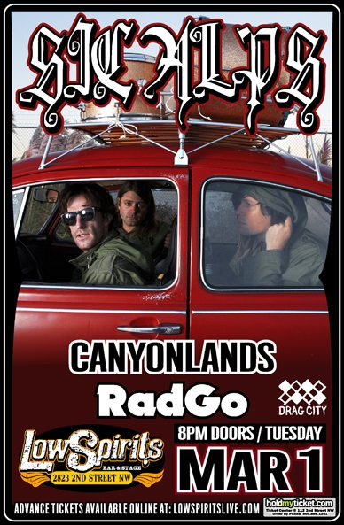 Sic Alps - Low Spirits - March 1 w/ Canyon Lands and RadGO