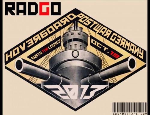 Burt's Lasts Dance – Radgo  | Hoverboard  | Postwar Germany